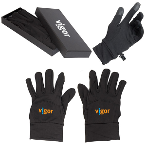 Touch Screen Gloves - Black