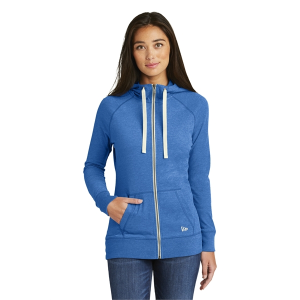 New Era® Ladies Sueded Cotton Blend Full-Zip Hoodie